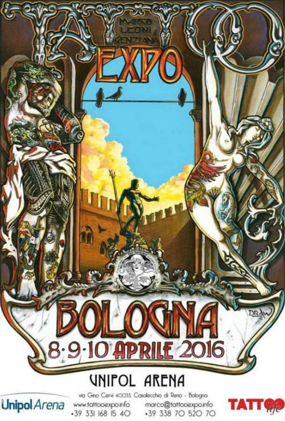 Le tattoo Convention di aprile in Italia