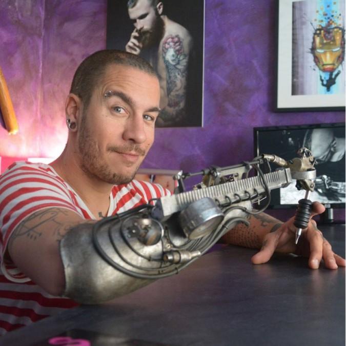 Nasce la prima protesi per tatuaggi