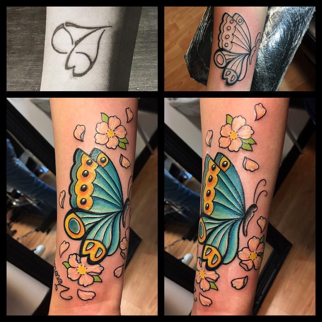 Come si realizza un perfetto Cover-up tattoo?