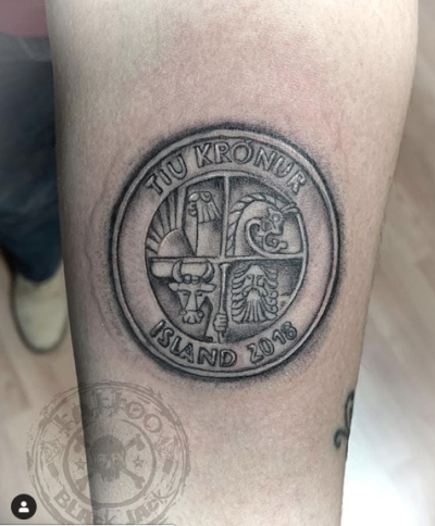 Perché tatuarsi una moneta?